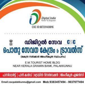 Digital services in palakunnu