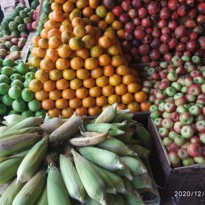 Fruits and vegetables in mavungal